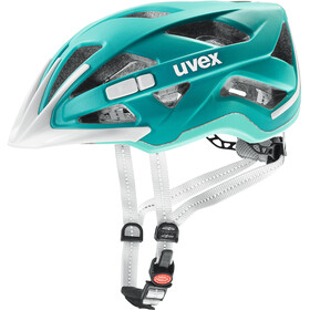 UVEX City Active Helmet teal matt